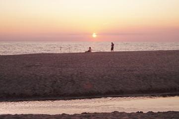 Seggio beach, Marina di Castagneto Carducci, Tuscany, Italy