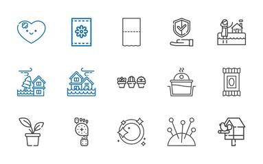 care icons set