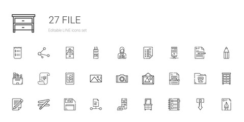 file icons set