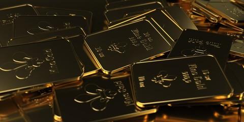 Fine Gold Bars 10 Oz