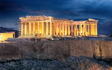 Acropolis at night, Athens - Greece
