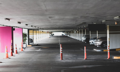 parking cars without people