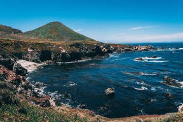 Big Sur Beach Cliff View