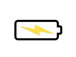 battery (energy) icon illustration idesign