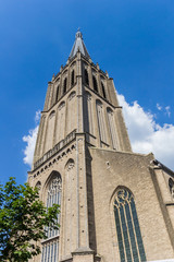Fotomurales - Spire of the historic Martini church in Doesburg, Netherlands