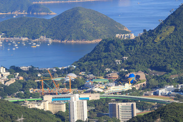 Foto op Canvas Brazilië WONG CHUK HANG view from the peak