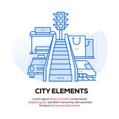 CITY ELEMENTS BANNER CONCEPT