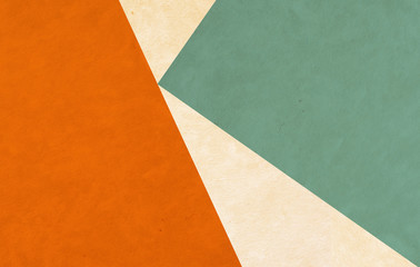 colorful shapes - paper texture - background design