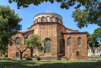 The Cathedral of St. Irene in Istanbul.