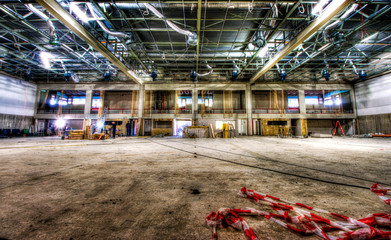 Renovation of the sports hall, HDR / High Dynamic Range Image