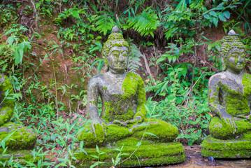 Statue of Buddha, Moss Island Buddha statue