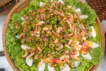 Yum Tua Poo, Thai Food
