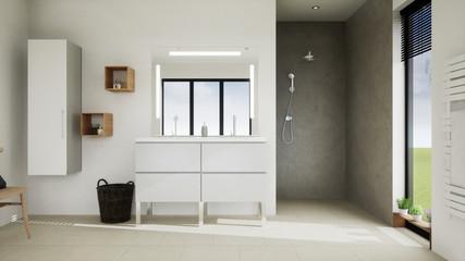 vue 3d salle de bain 05