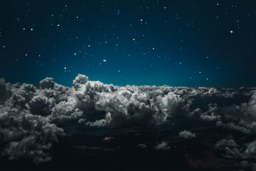 Wall Mural - backgrounds night sky with stars