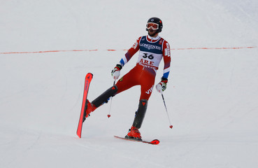 Alpine Skiing - FIS Alpine World Ski Championships - Men's Alpine Combined - Slalom
