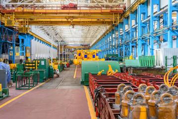 Production workshop machine factory.