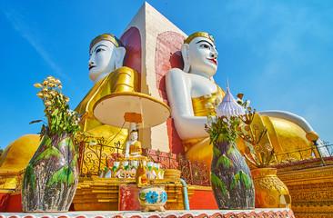Wednesday night Planetary corner, Kyaik Pun Pagoda, Bago, Myanmar