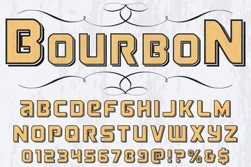 font script typeface vector