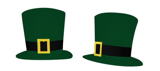Saint Patrick's day hat. vector illustration