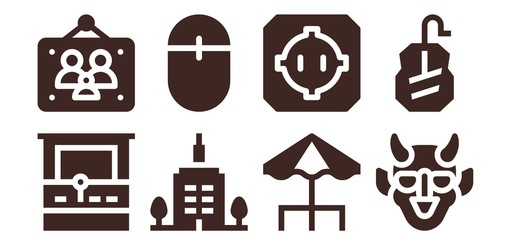 pixel icon set