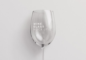 Wine Glass Mockup