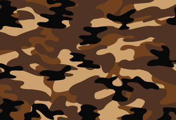 vector of brown camouflage