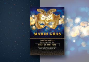 Mardi Gras Flyer Layout