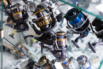 Image of stand with new good baitcasting reel