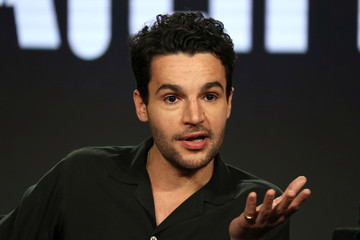 """Actor Christopher Abbott speaks on a panel for the Hulu series """"Catch-22"""", during the Television Critics Association (TCA) Winter Press Tour in Pasadena"""