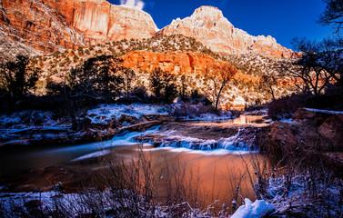 Zion River Utah