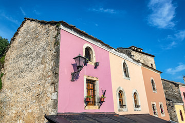 Colorful Building in Mostar, Bosnia
