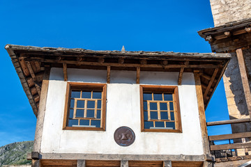 Beautiful Historic Architecture in Mostar, Bosnia