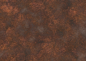Garden Poster Concrete Wallpaper corroded rust background