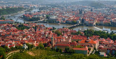 Prague old town panoram