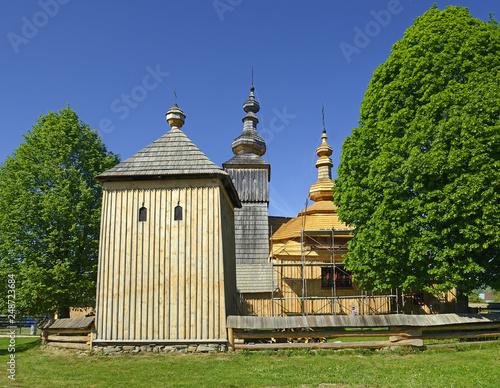 Greek Catholic Wooden Church In Ladomirova Unesco World Heritage