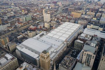 Aerial photo Philadelphia City Hall