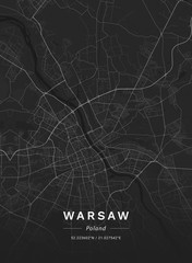 MAPA WARSZAWA