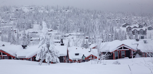 Winter in Trysil mountain