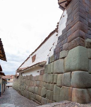 January 20, 2019 ,Hatun Rumiyoc Street (Cusco City) Peru
