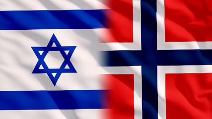 Waving Israel and Flags