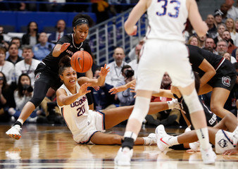 NCAA Womens Basketball: South Carolina at Connecticut