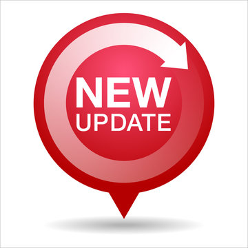 New update icon, Vector graphics
