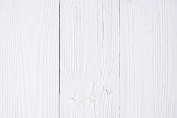 White wood texture with natural striped pattern for background, wooden surface for add text or design.