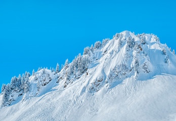 Mountain summit avalanche disposal