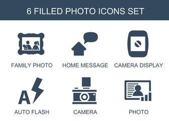 6 photo icons