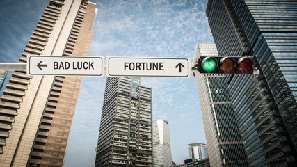 Sign 393 - FORTUNE
