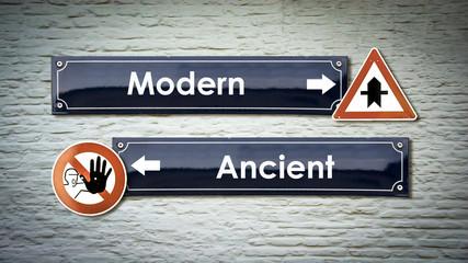 Sign 405 - Modern