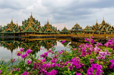 Beautiful temple in Bangkok
