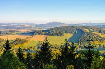 der Berg Bärenstein im Erzgebirge - the mountain Baerenstein in the Erzgebirge