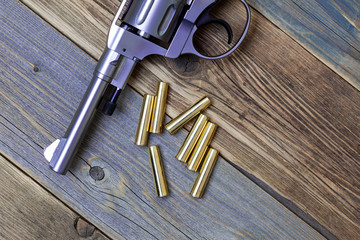 Nagant revolver pistol